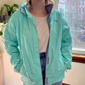 Resolve Waterproof Rain Jacket Teal Children's XL